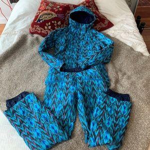 Burton snowbord jacket and pants